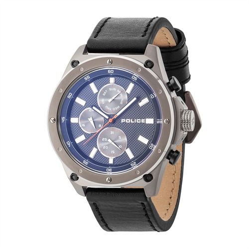 Herrenuhr Contact blaues Ziffernblatt PL14537JSU02A