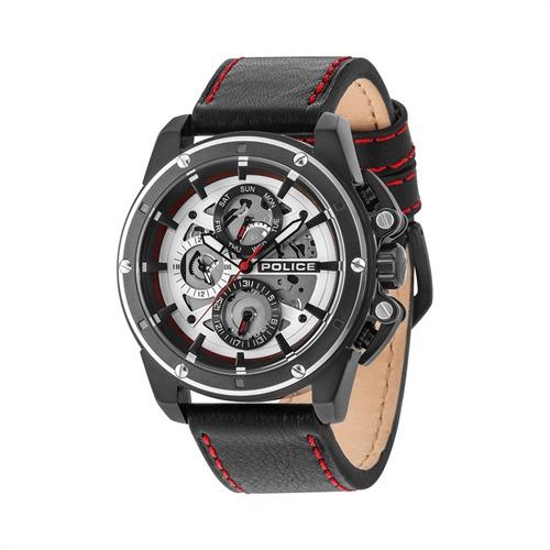 Uhr für Herren mit Lederband