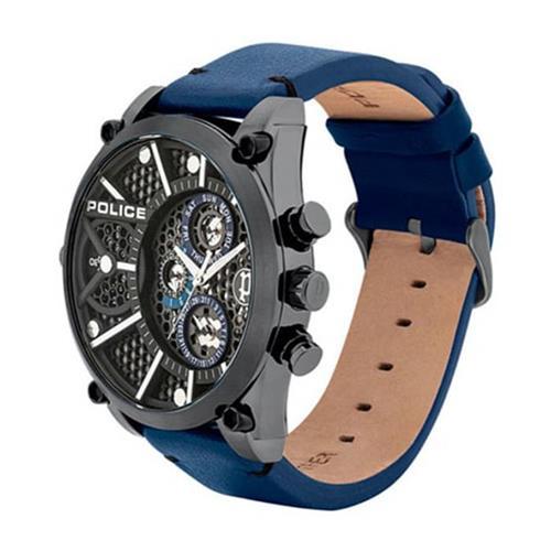 Vigor Set With Men's Watch And Bracelet, Dark Blue