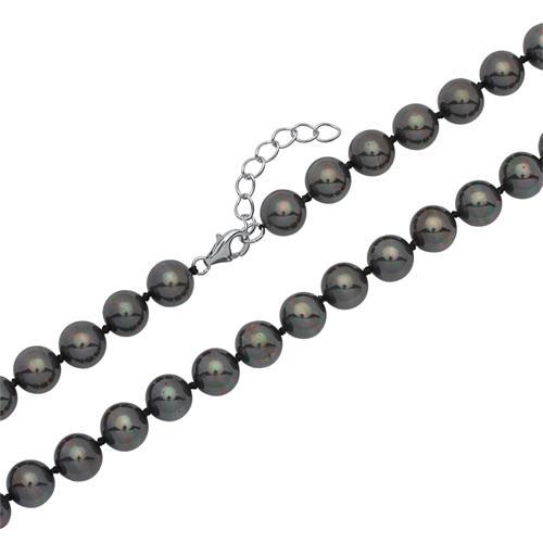 Süßwasserperlenkette mit Silberverschluss