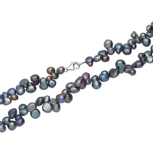 Robuste Halskette aus Süßwasserperlen
