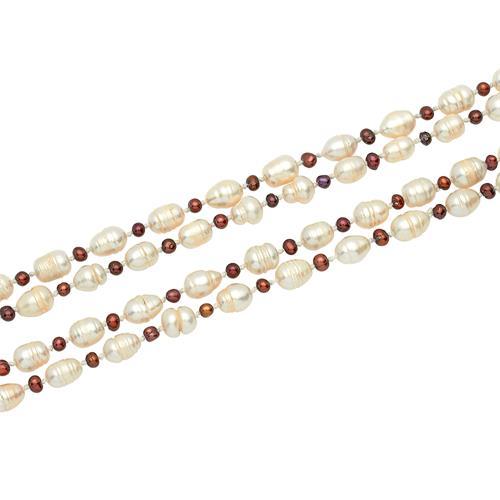 Ketten - Hochwertige Halskette aus Süßwasserperlen  - Onlineshop The Jeweller