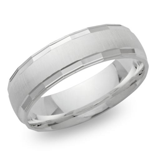 Moderner Silber Ring 925er Silber in 6,5 mm