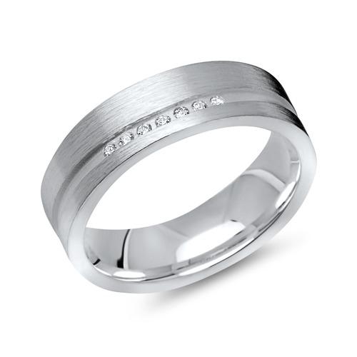 Hochwertiger 925er Silber Damenring Zirkonia