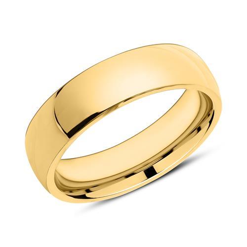 Gravur Ring aus vergoldetem Edelstahl