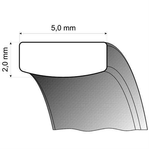 Trauringe Gelbgold 5mm