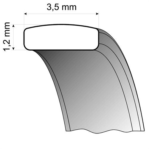 Eheringe Weißgold 3,5mm