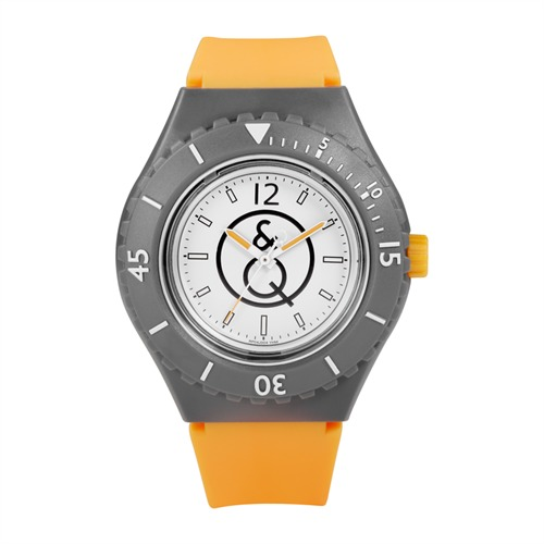 Taucheruhr in Orange 20 Bar Kautschuk RP04J004Y