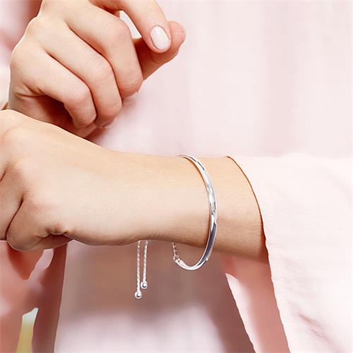 Armspange 925er Silber mit Gravurmöglichkeit