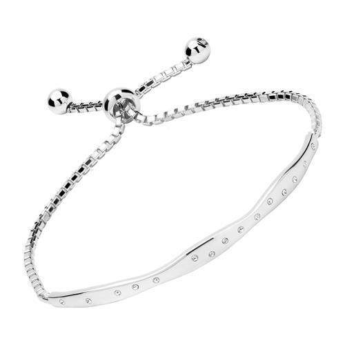 Armband Sterlingsilber mit weißen Zirkonia