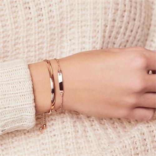 Armband Sterlingsilber Roségold