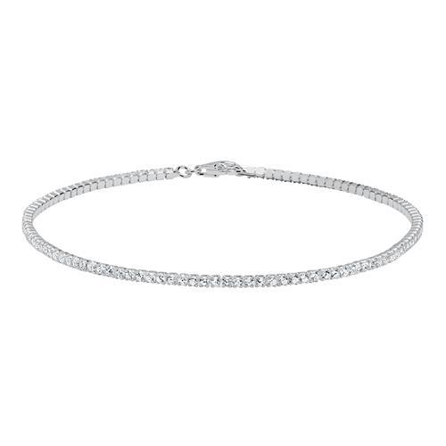 Damenarmband aus 925er Silber Zirkonia