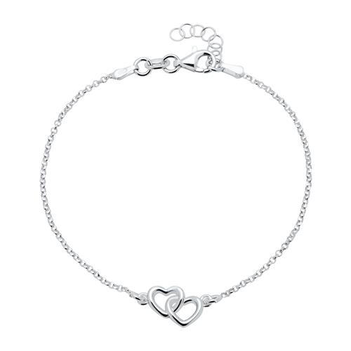 Armbaender - Herzarmband aus Sterlingsilber  - Onlineshop The Jeweller