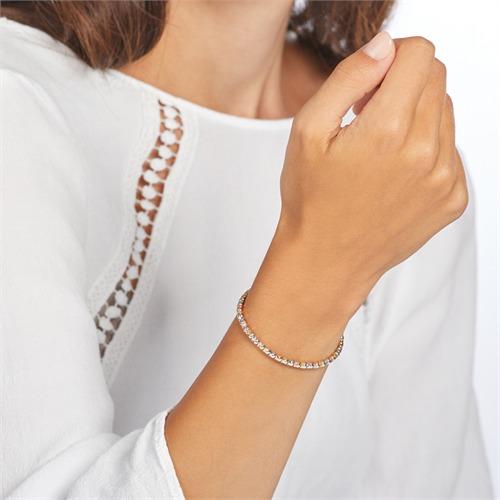 Armband aus Sterlingsilber tricolor