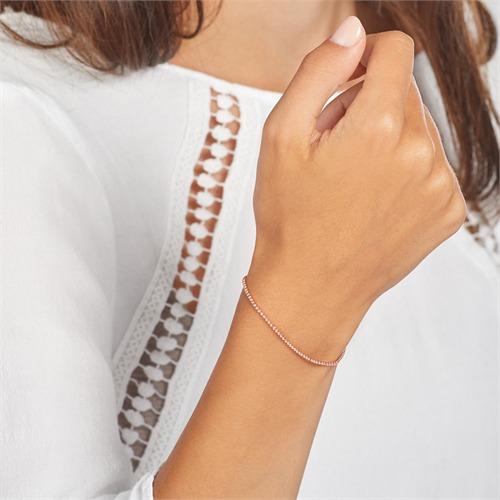 Rosévergoldetes Sterlingsilber Armband