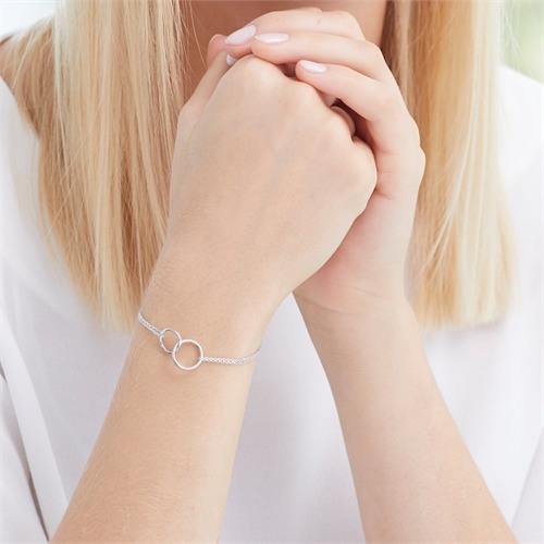 Armband Kreise aus 925er Sterlingsilber