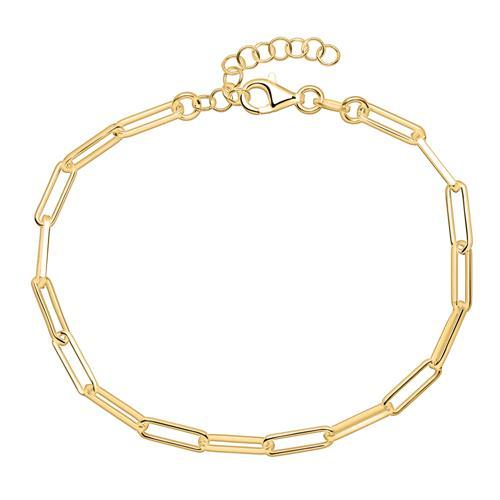 Damenarmband aus vergoldetem 925er Sterlingsilber