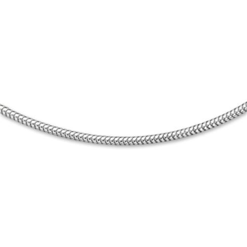 Schlangenkette Silber