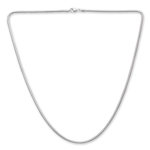 925 Silberkette: Schlangenkette Silber 1,9mm