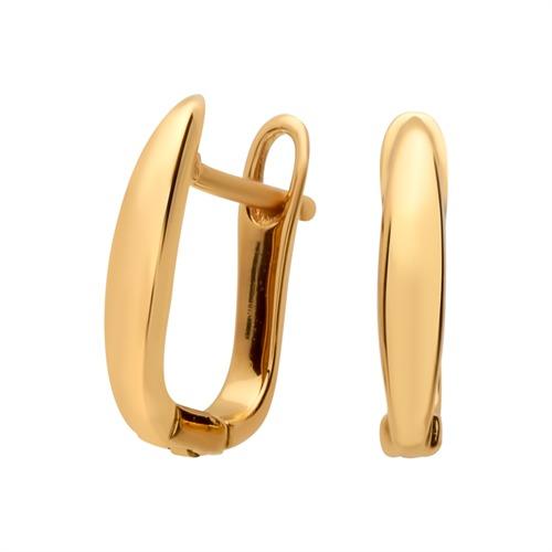 Ohrstecker 925 Silber vergoldet Basiselement