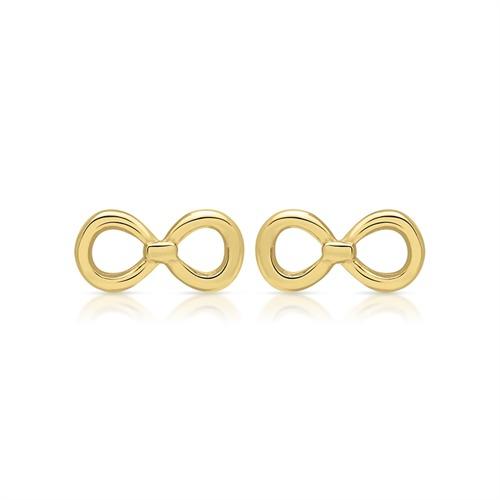 Ohrstecker 925er Silber gelbvergoldet