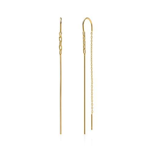 Ohrhänger aus Sterlingsilber vergoldet