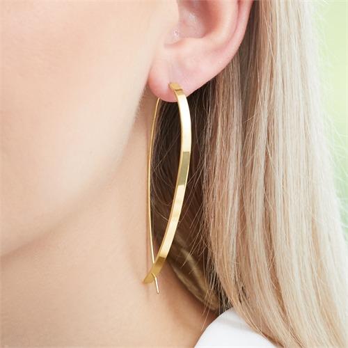 925er Silber Ohrhänger vergoldet