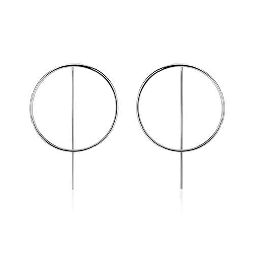 Ohrhänger Kreise aus Sterlingsilber