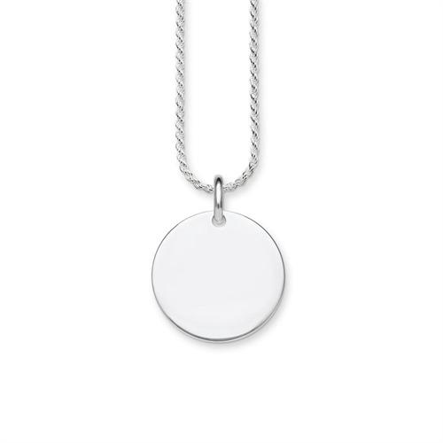 Halskette Coin aus 925er Silber