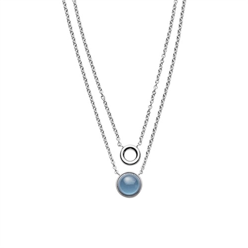Damen Halskette Sea Glass