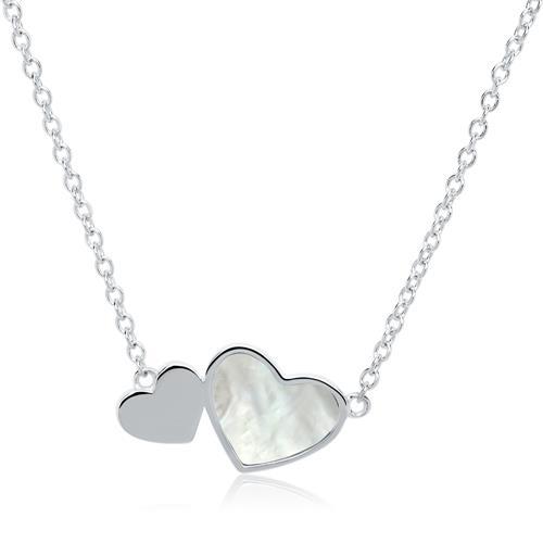 Kette Herzen für Damen aus 925er Silber