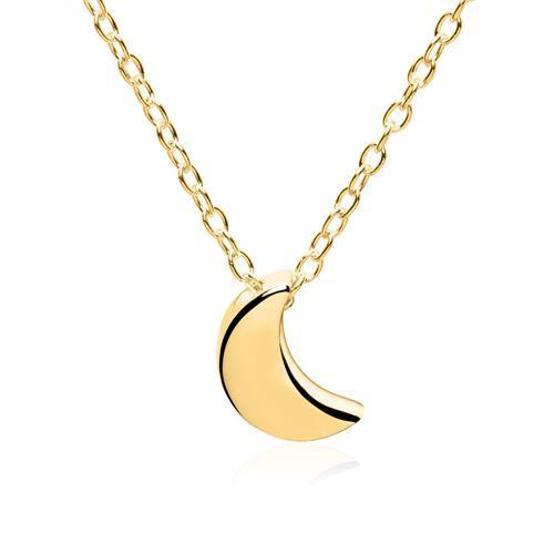 Kette Mond aus vergoldetem Sterlingsilber