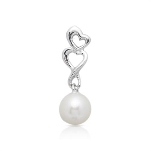 Perlen Anhänger aus 925 Silber