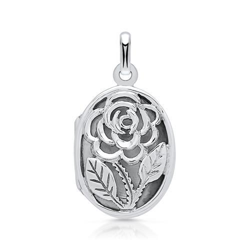 925 Silber Medaillon Gravur möglich