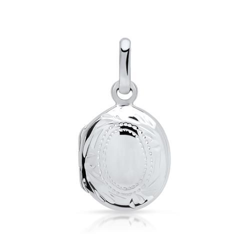 Exklusives 925 Silber Medaillon aufklappbar