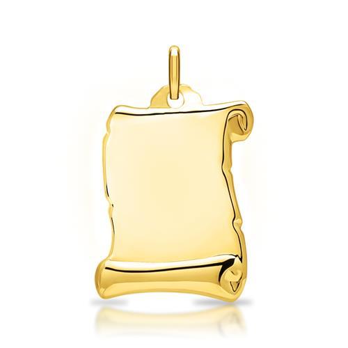 925 Silber Anhänger vergoldet gravierbar