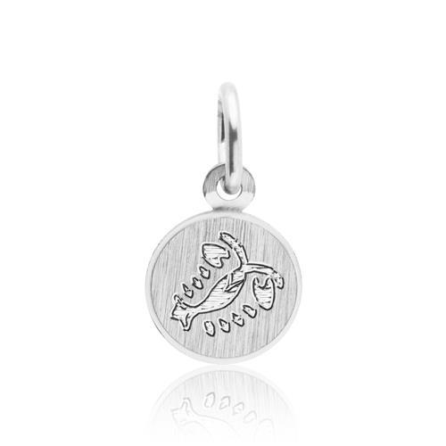 925 Silber Anhänger Sternzeichen Krebs