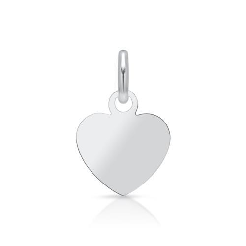925 Silberanhänger Herz gravierbar