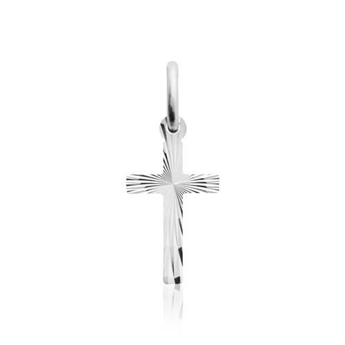 Silber Kreuzkette mit Anhänger