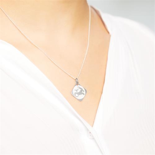 925 Silberanhänger Sternzeichen Steinbock
