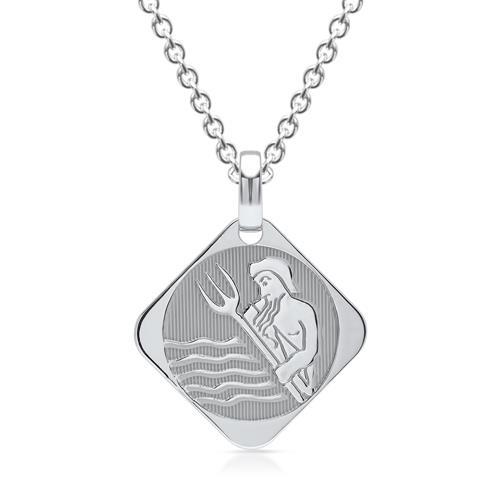 925 Silberanhänger Sternzeichen Wassermann