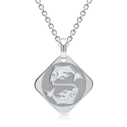 Silberkette Sternzeichen Fische