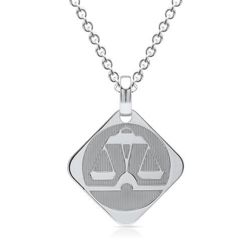 925 Silberanhänger Sternzeichen Waage