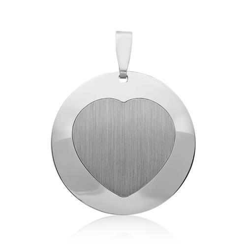 925er Silberkette inkl. Herzanhänger