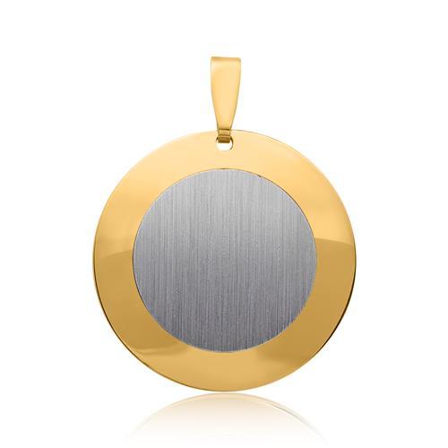 Anhänger 925er Silber bicolor vergoldet