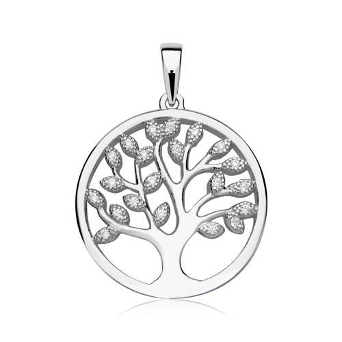 925er Silber Kette Anhänger Lebensbaum