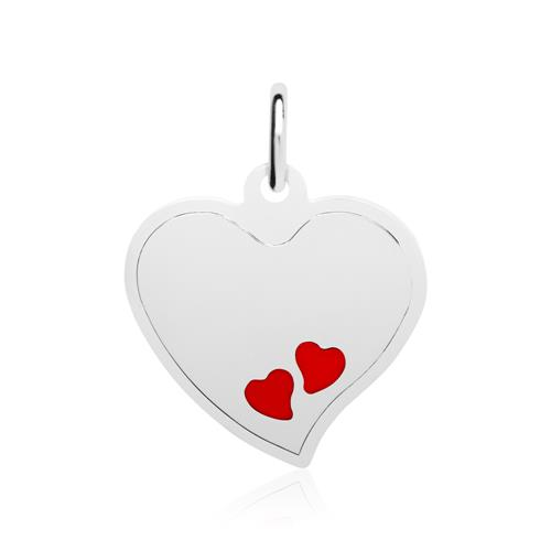 Kette Herzen aus 925er Sterlingsilber gravierbar