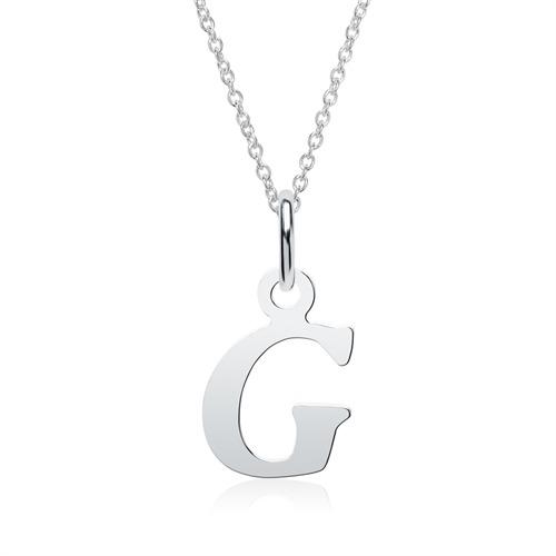 Buchstabenkette G aus 925er Silber