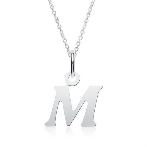 Buchstabenkette M aus 925er Silber