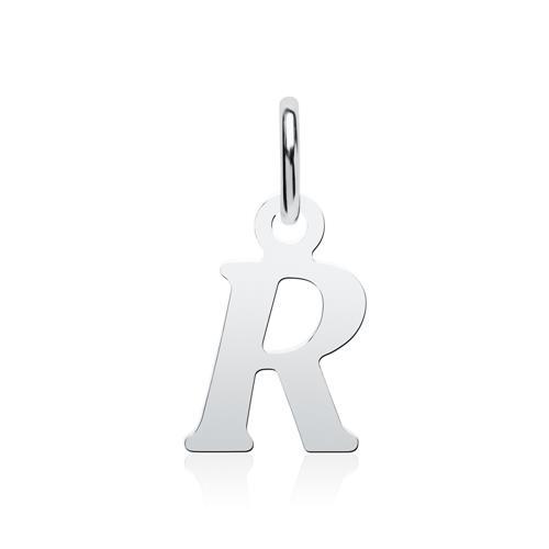 Buchstabenkette R aus 925er Silber